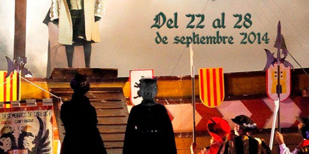 El Último Desembarco de Carlos V en Laredo de 22 al 28 de Septiembre