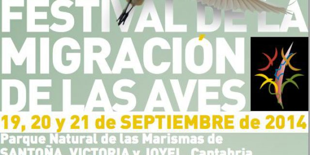 Festival de la Migración de las Aves en Santoña del 19 al 21 de Septiembre.