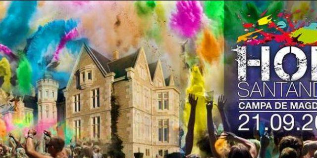 Holi Festival en Santander el 21 de Septiembre