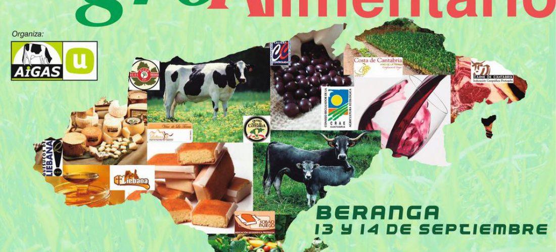 Mercado Agro-Alimentario en Beranga los días 13 y 14 de Septiembre.