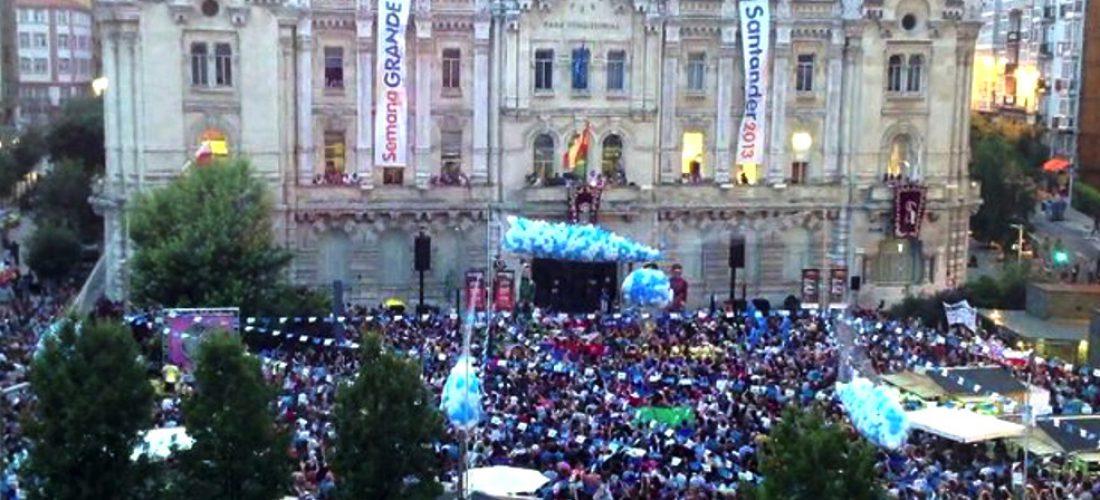 Fiestas de Santiago en Santander, del 18 al 27 de Julio