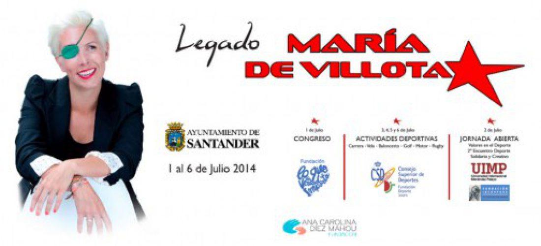 Congreso «Lo que de Verdad Importa» Legado de María de Villota. Del 1 al 6 de Julio en Santander